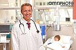 doctor in hospital