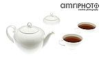 tea cups with pot