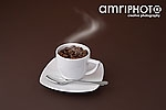 coffee steaming