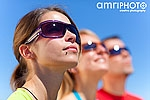 sunglasses close 3 people