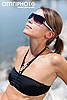 fashion single shot sunglasses