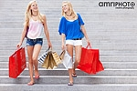 mädchen shopping